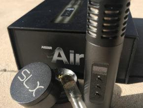 Arizer Air II dry herb vaporizer
