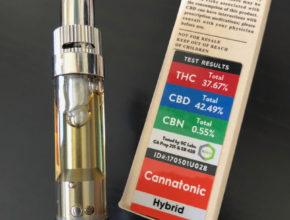 Alpine Vapor distillate cannabis oil