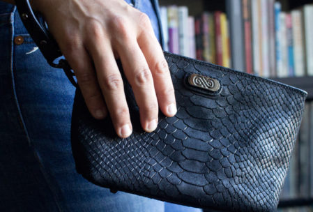 Annabis luxury smell-proof clutch purse