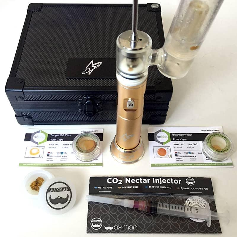 Dabado concentrates vaporizer