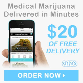 Save $20 with Eaze Delivery