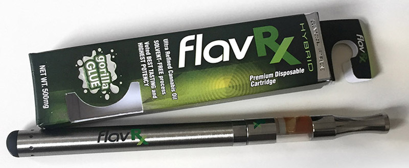 FlavRx Cannabis Oil Vape Cartridges