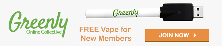 Free vape pen for new Greenly members