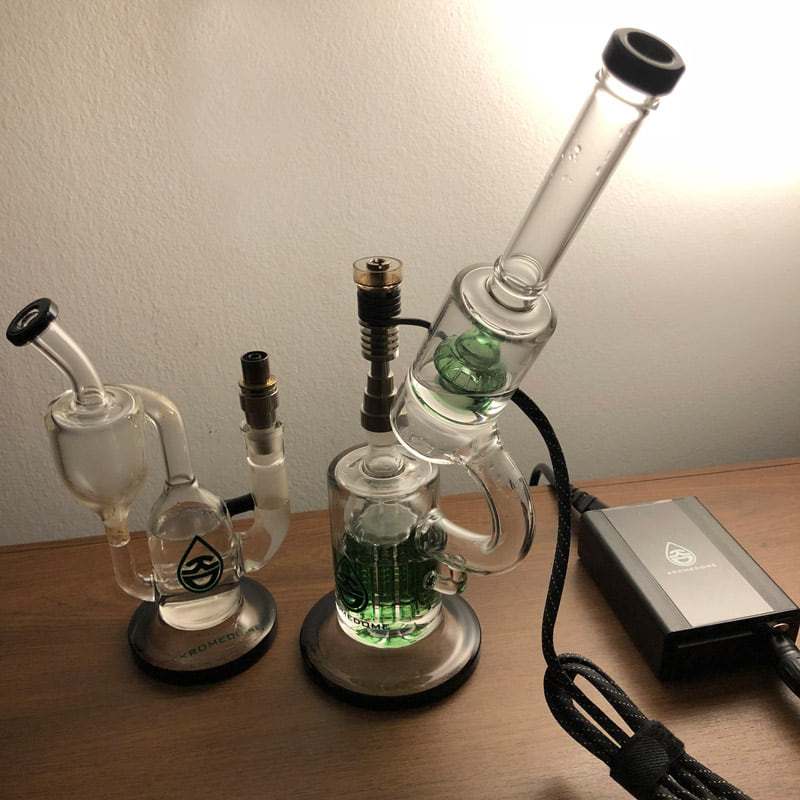 KromeDome electronic nails and dab rigs