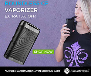 Boundless CF - 15% off at Namaste Vapes