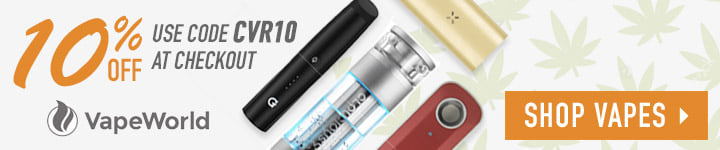 Get 10% off vapes with code CVR10