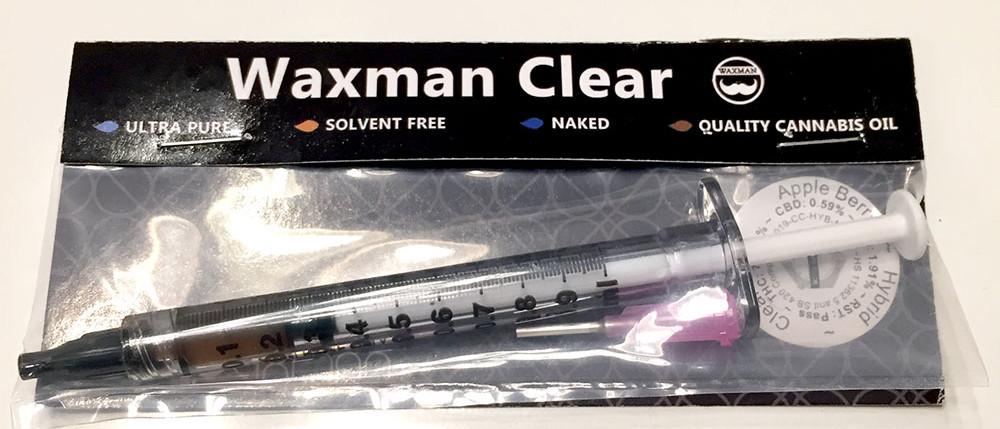 Waxman Clear Oil Syringe Refill