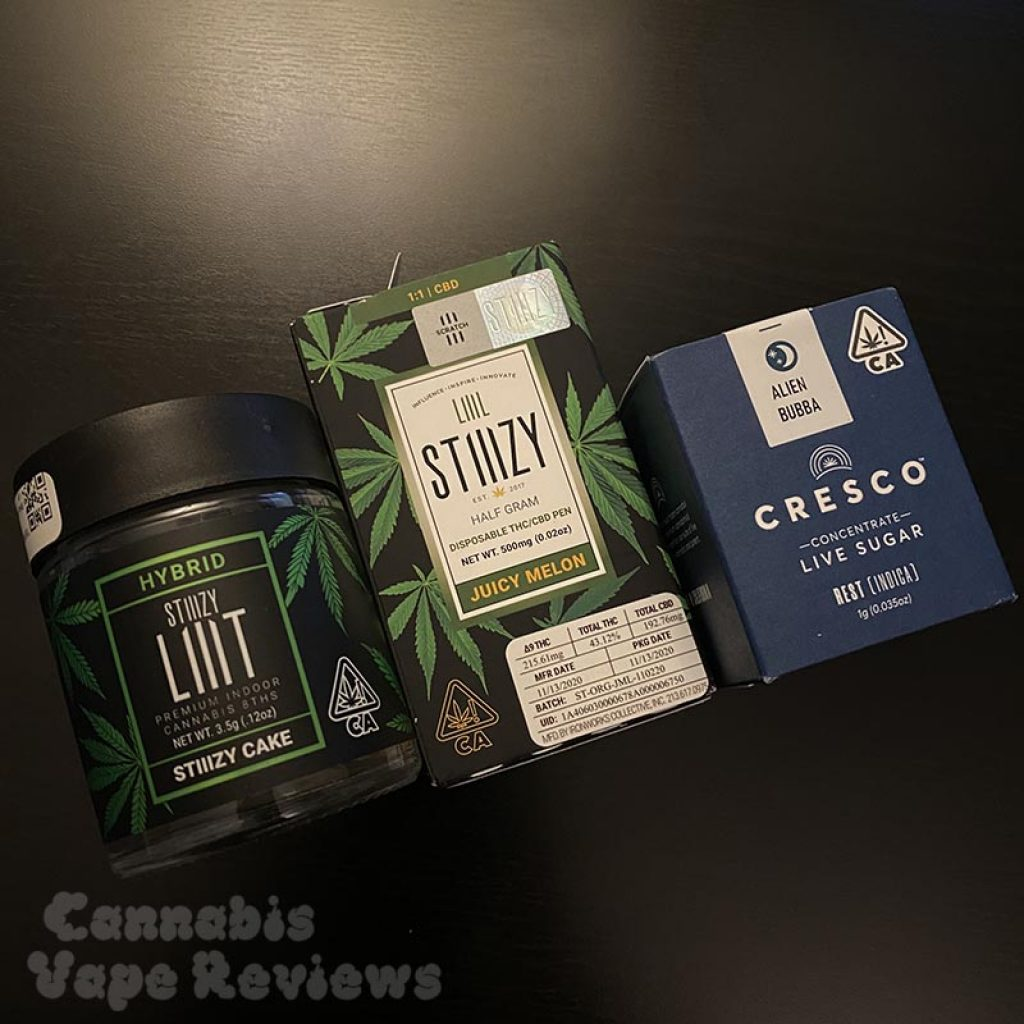 Emjay ordered cannabis products