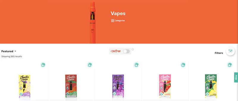 Shop by vapes on Emjay