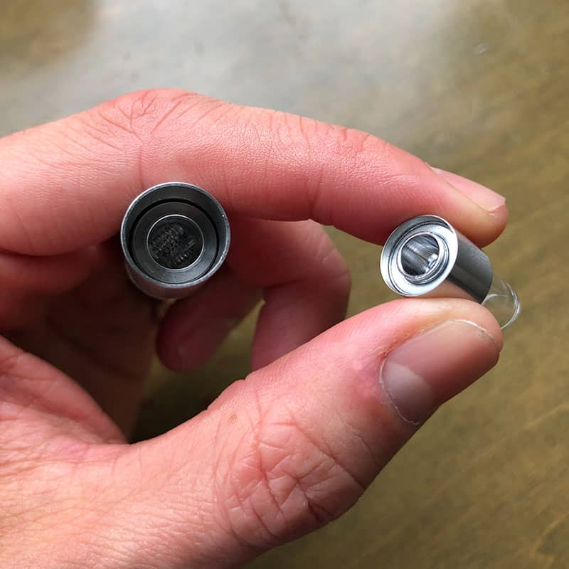 AirVape OM wax vaporizer keychain