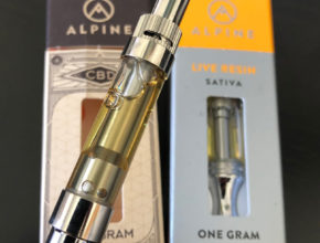 Alpine Vapor distillate cannabis oil