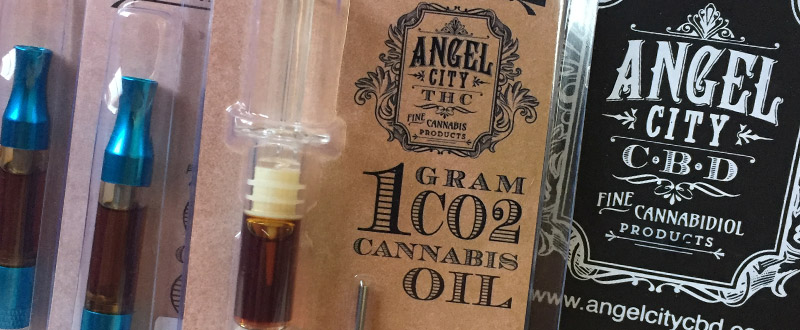 Angel City THC wax and cannabis oils