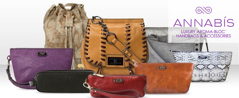 AnnaBis smell-proof designer handbags