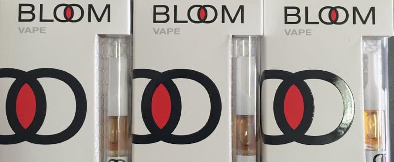 Bloom vape cartridge