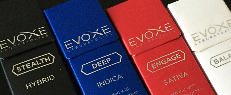 Evoxe Essential Oil Infused Cannabis Vapes