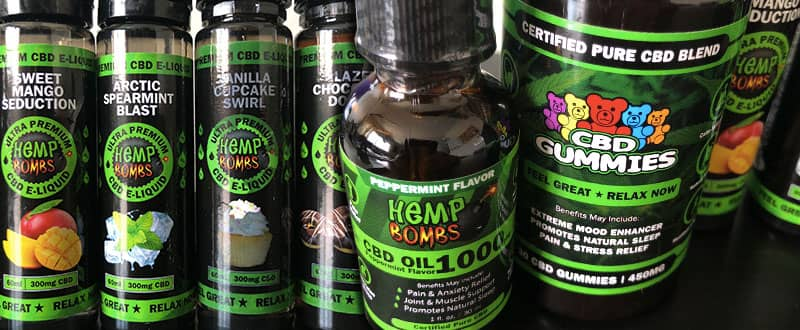 Hemp Bombs premium CBD
