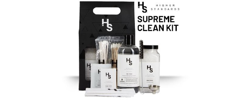 Higher Standards cleaning kit