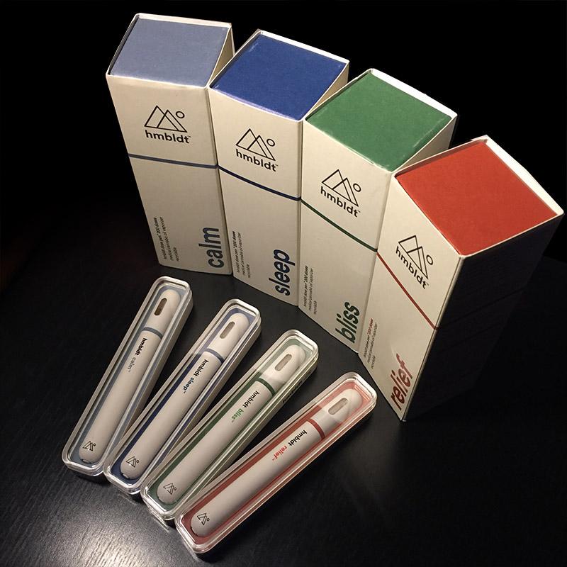 hmbldt dose pen - 200 Dose Medical Cannabis Oil Vaporizer