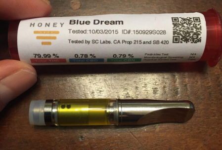 HoneyVape Cannabis Oil Vape Cartridge