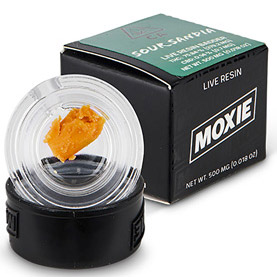 Moxie concentrates delivery for Cali