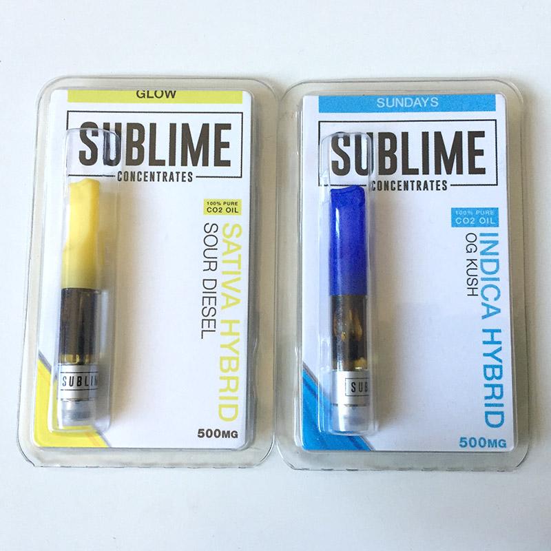 Sublime Concentrates Cannabis Oil Cartridge | Vape Reviews