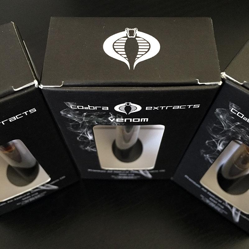 Cobra Extracts Venom Oil - Cannabis Vape Cartridge Review