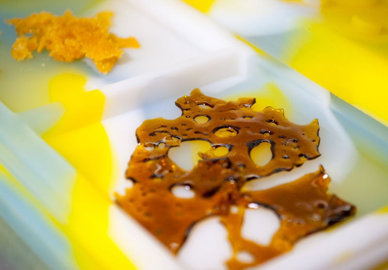 Wax concentrates are highly potent