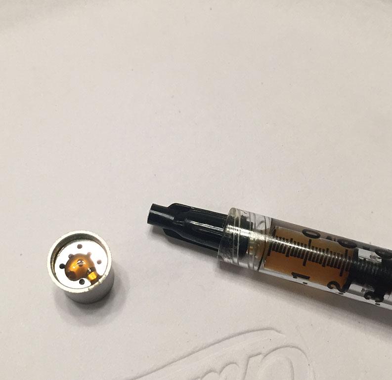 Waxman Clear - High THC Cannabis Oil - Syringe Refills