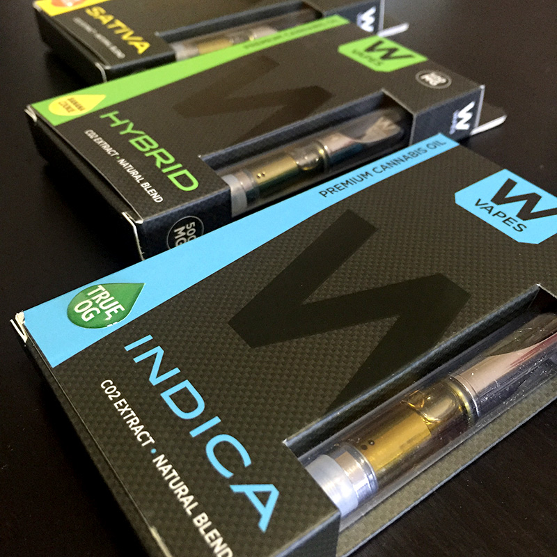 W Vapes - Premium CO2 Cannabis Oil Vape Cartridge Review